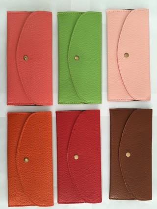 harga Dompet wanita kulit jeruk tipis fashion warna import kartu promo murah Tokopedia.com
