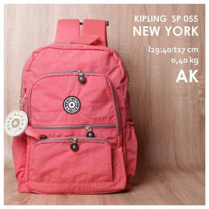 koleksi tas ransel untuk wanitas tas kipling warna peach salem. Toko tidak  aktif selama lebih dari ... 3693631c03