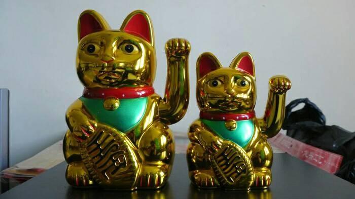 Jual Boneka Kucing Emas Cina Keberuntungan Amp Hoki Rezeki