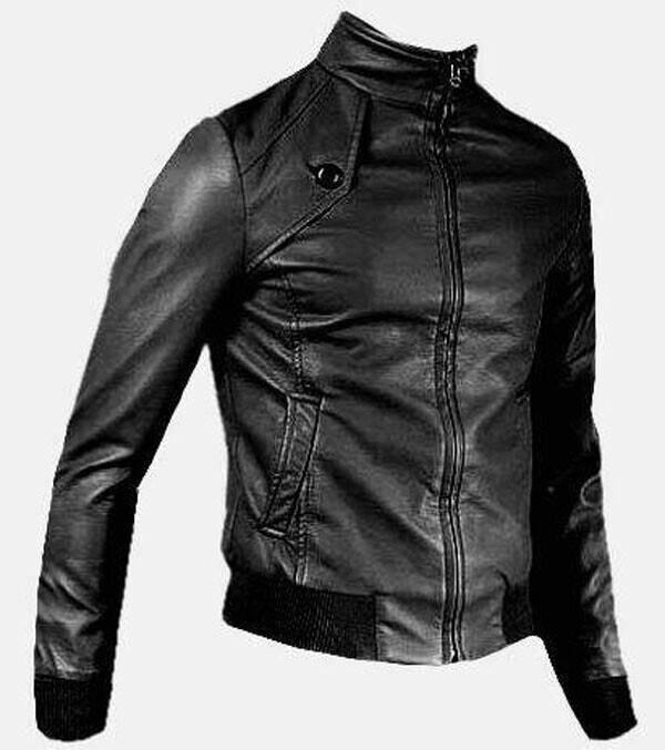 harga Jaket kulit pria model korea Tokopedia.com