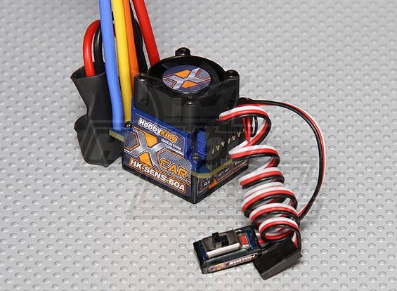 harga Esc rc car/mobil hk hobbyking 60a sensored 1/10 drift/touring/onroad Tokopedia.com