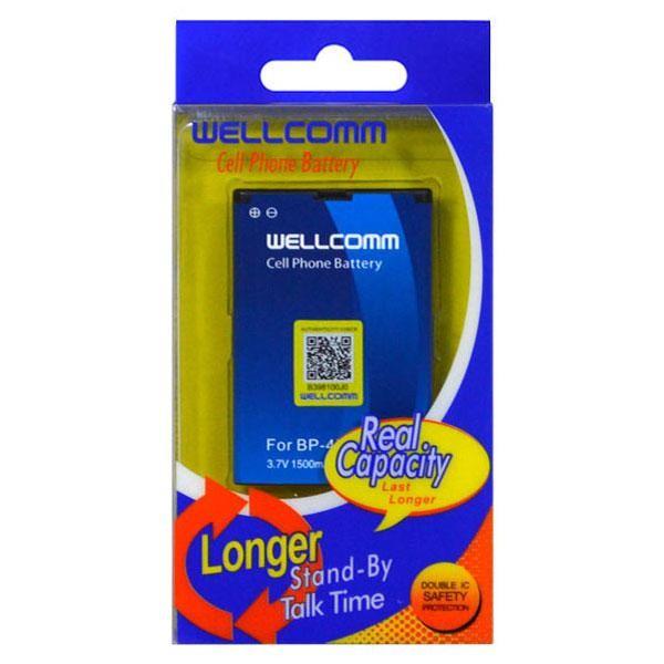 harga Battery bp-4l wellcomm 1500 mah Tokopedia.com