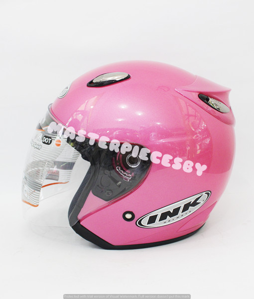 Helm INK Centro Jet PINK ORIGINAL PRODUCT
