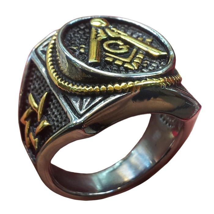 harga Cincin freemasons ring masonic murah david silver gold Tokopedia.com
