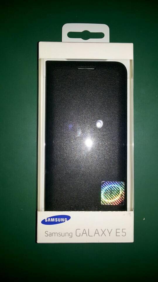 Jual Flipwallet Samsung E5 Second Advance Sticker Tokopedia