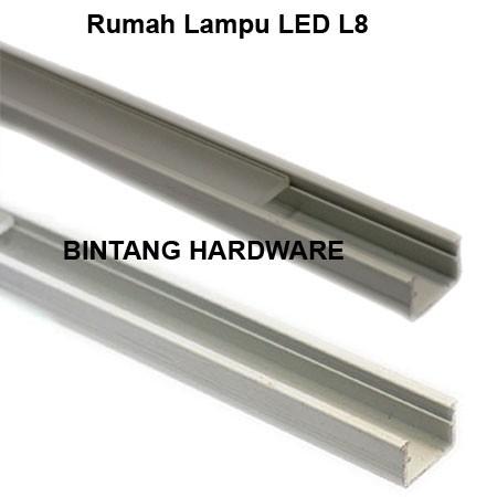 Jual Rumah Lampu LED Aluminium Untuk Almari Kitchen Set