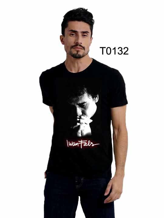 Jual T0132 Kaos Distro Keren Iwan Flas Kaos Distro Legenda Iwan