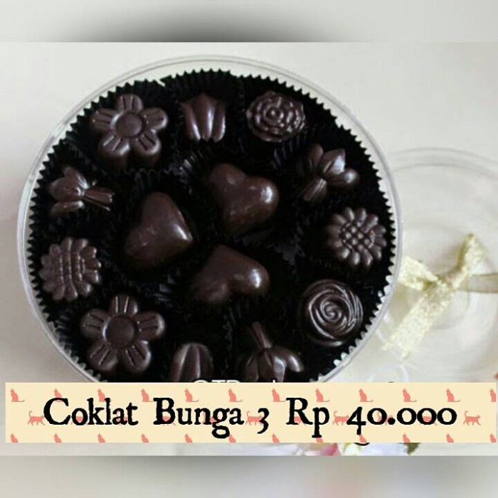Foto Produk coklat dark Bunga dari Tupperware diskon 20%