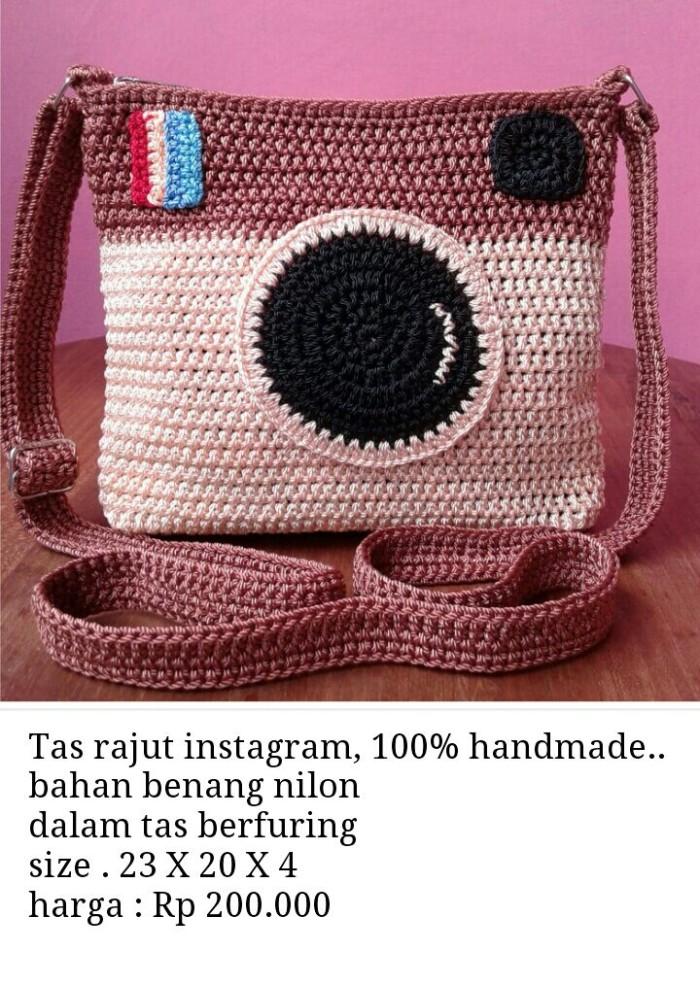 62+ Gambar Tas Rajut Instagram