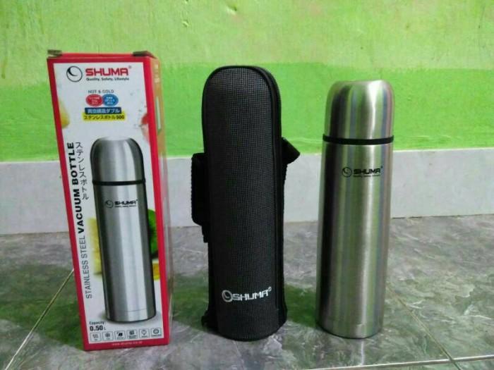 harga Shuma stainless steel vacuum flask 500ml (termos) Tokopedia.com