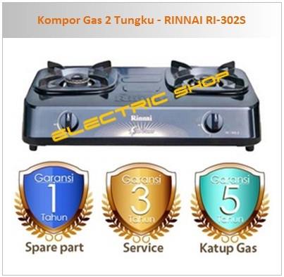 harga Kompor gas 2 tungku - rinnai ri-302s Tokopedia.com