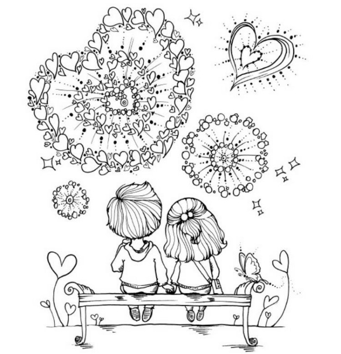 Coloring Book For Adults Import LOVE SECRET Pensil Warna