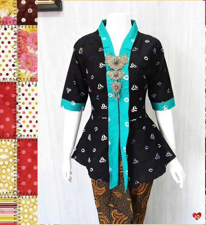 Jual Batik Model Kebaya Kartini Jumputan Blouse Model Kebaya Dki Jakarta Muqqit Shop Tokopedia
