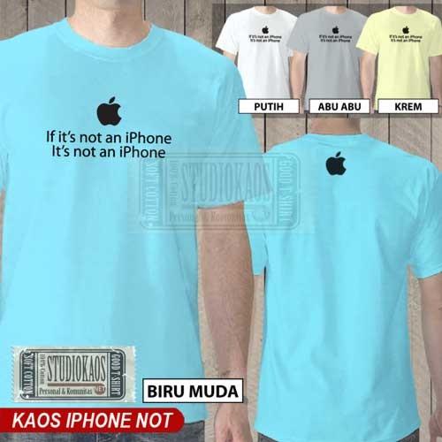 harga Kaos iphone not   baju pencinta apple ipad ipod mac macbook imac Tokopedia.com