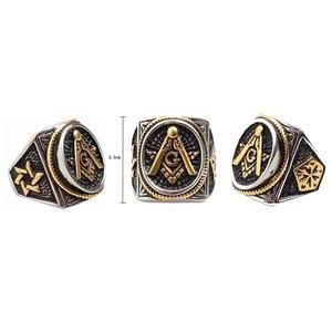 harga Cincin fremasons oval square vintage logo oval temple masonic ring Tokopedia.com