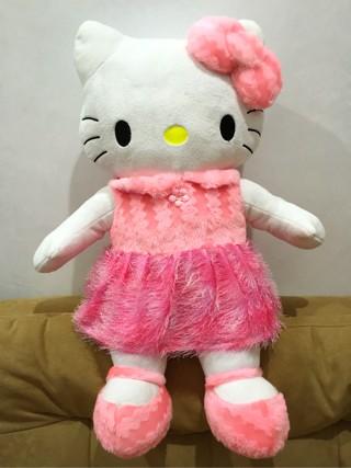 Jual Boneka Hello Kitty Baju Gaun Dress Pink Besar Jumbo Cantik Lucu ... c745f501ec
