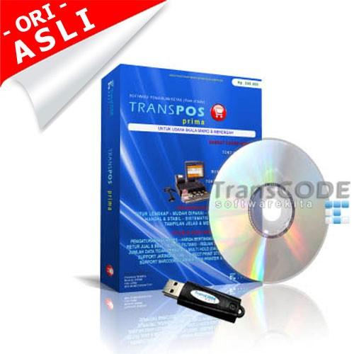 Foto Produk Software Kasir | Program POS | Program Kasir TOKO-TransPOS 2011PRIMA1D dari Toko Software Kita
