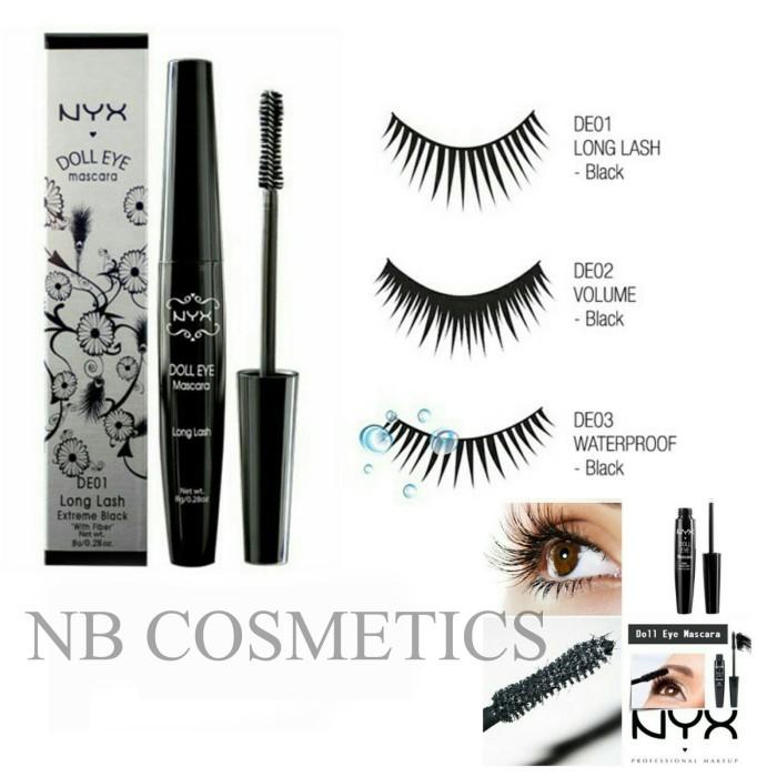 4d72f8c203f Jual Nyx Doll Eye Mascara Original 8 G Nbkosmetik Tokopedia
