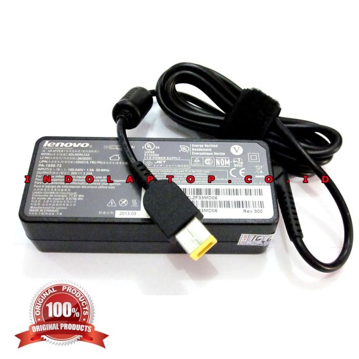 harga Adaptor Notebook Lenovo 20v - 3.25a Usb/thinkpad S3/s5/s440 Series-ori Tokopedia.com