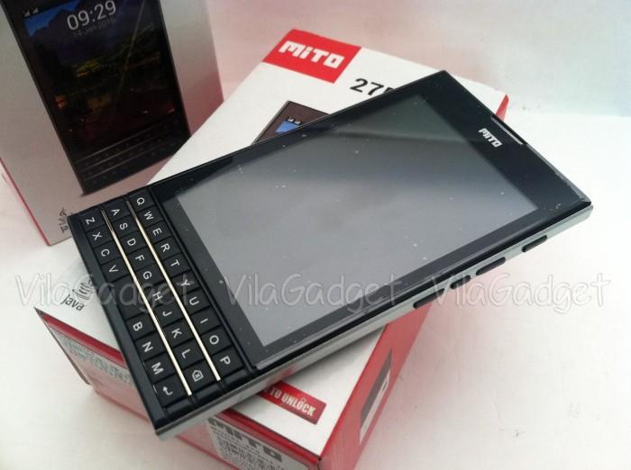 harga Mito 275 dual sim gsm qwerty mirip bb, garansi resmi Tokopedia.com