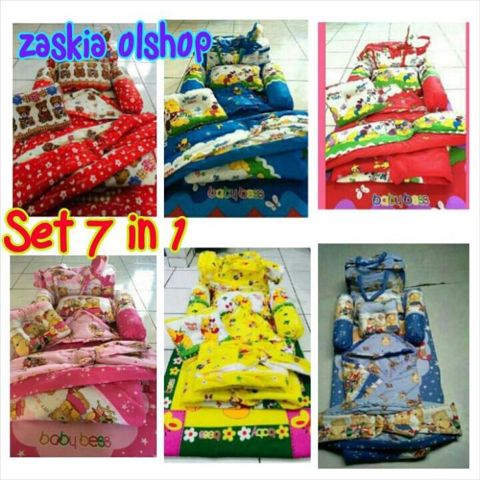 harga Kasur bayi/gendongan bayi/matras bayi/selimut bayi set 7 in 1 Tokopedia.com
