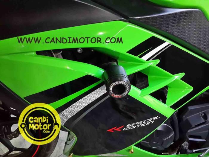 harga Frame Slider / Pelindung Fairing Body Ninja 250 Fi & Z250 Agna Tokopedia.com