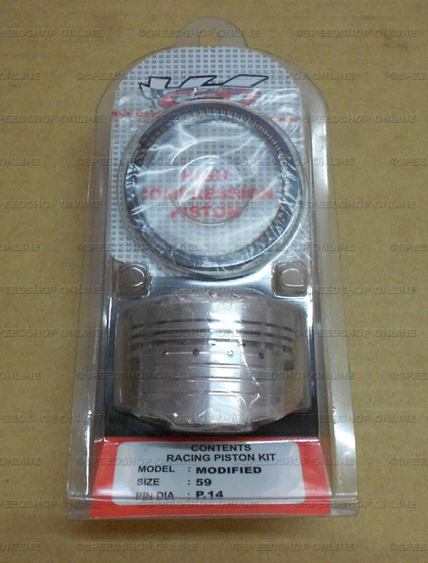harga Piston/seher kit cld racing klx 150 pin 14 os 59 modified hi-dome Tokopedia.com