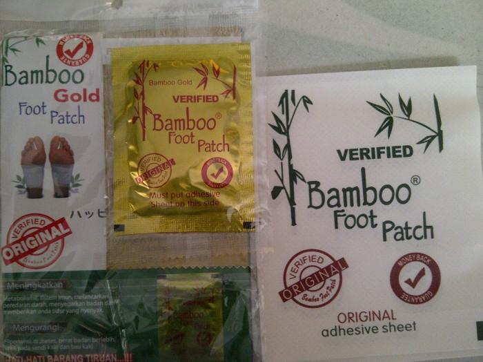 Koyo Kaki Bamboo Gold Original ( Bambo Foot Patch Detox Premium ) The