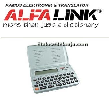 ALFALINK EI-16S - KAMUS ELEKTRONIK - TRANSLATOR