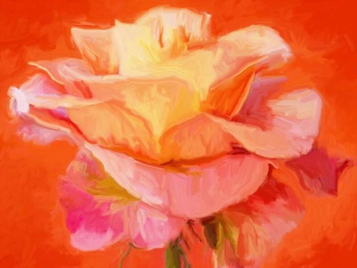 Jual Lukisan Digital Bunga 10 Kab Pati Nirbaya Art Gallery Tokopedia