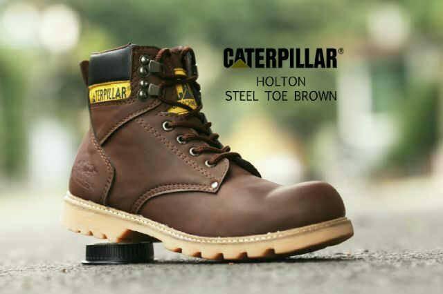 sepatu boot safety tracking   CATERPILLAR HOLTON   Bandung