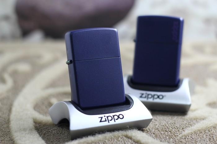 harga Zippo navy blue matte 239 Tokopedia.com