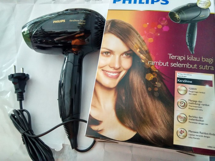 Jual Hair Dryer Philips Kerashine 8119 Pengering Rambut Hairdryer ... fbd203bc5b
