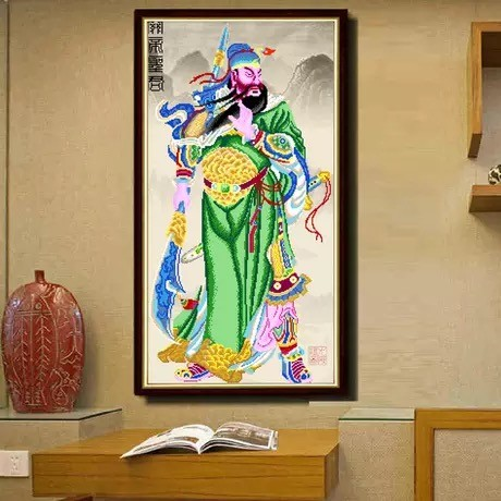 harga Lukisan berlian diy diamond painting kwankong - lukisan unik 60x109cm Tokopedia.com