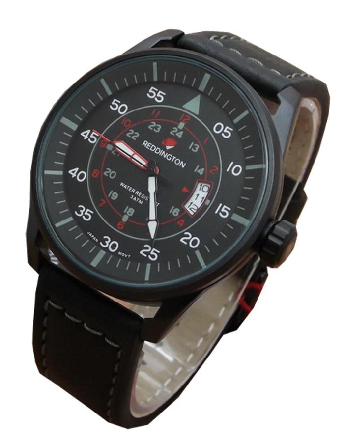 harga Jam tangan pria original reddington r 8044g full balck Tokopedia.com