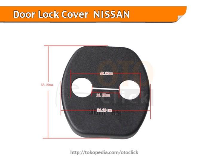 harga Car door lock cover mobil nissan latio murano sunny navara Tokopedia.com