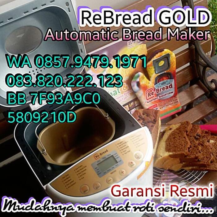 harga New re bread gold series mesin pembuat roti otomatis Tokopedia.com
