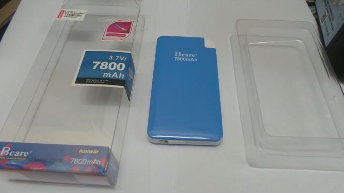 Powerbank Bcare Real Capacity 7800mAh Biru Original