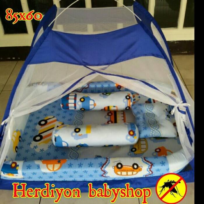 harga Set kasur bayi tenda kelambu/bantal guling/tas bayi/handuk/celana Tokopedia.com