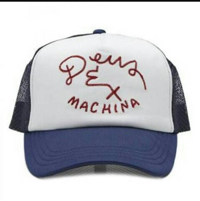 Topi / Hat Trucker DEUS EX MACHINA - Dongker