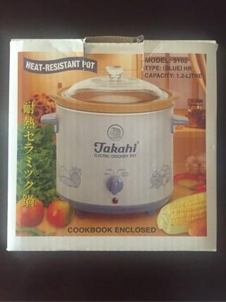 Takahi Slow Cooker 1.2L