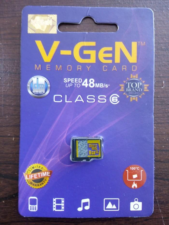 MICRO SD V-GEN 8GB CLASS 6 NON ADAPTOR