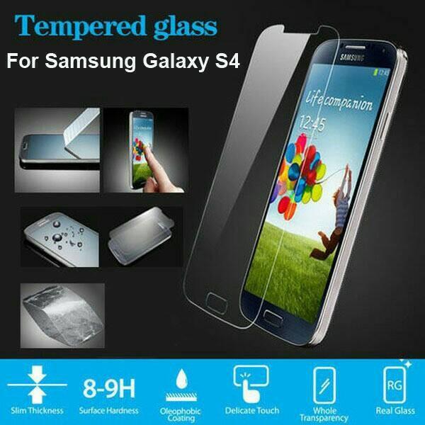 Tempered glass samsung galaxy s4 i9500/ anti gores kaca / screen guard