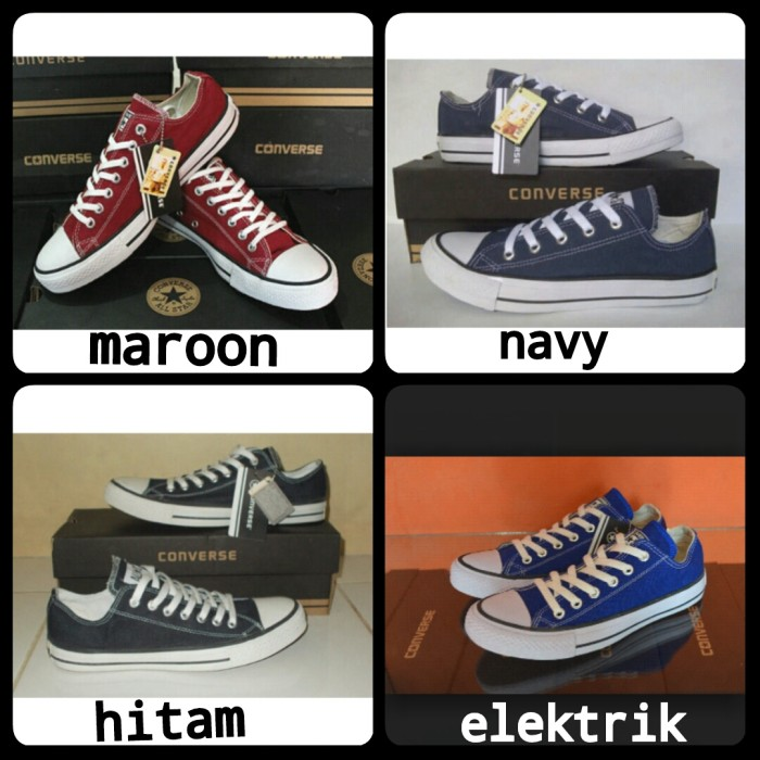 Jual sepatu converse all star low grade ori  f94cd13abc