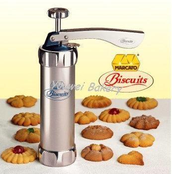 Cetakan Biskuit & Kue Marcato / Marcato Biscuits Cookies Presses Set
