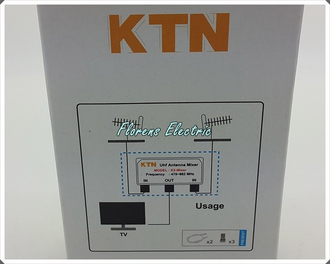 harga Uhf digital antenna mixer / 2 antena uhf jadi 1 merk kitani Tokopedia.com