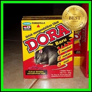 Racun Tikus Dora Racun tikus mati di tempat terang