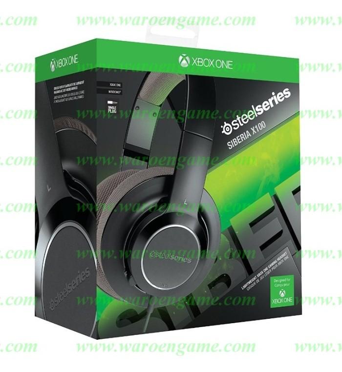 harga Steelseries siberia x100 comfortable gaming headset (xbox 1 pc mac) Tokopedia.com
