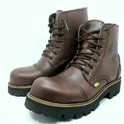 harga Sepatu outdoor casual boot pria kulit original handmade Tokopedia.com