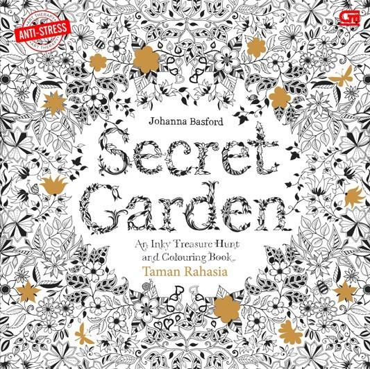 Jual Secret Garden Coloring Book Untuk Dewasa Kota Tangerang Selatan Rumashinta Tokopedia